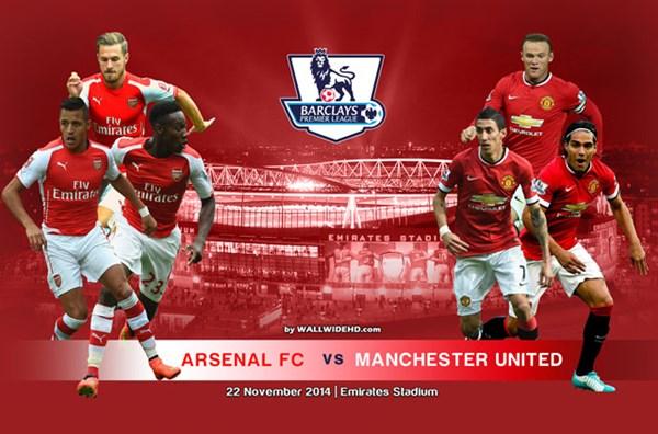 Arsenal 0-0 M.U: Chủ nhà ép sân (H1)