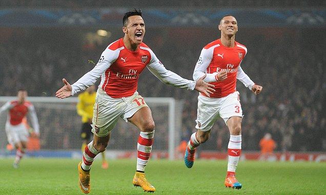 Sanchez lập siêu phẩm, Arsenal rửa hận Dortmund