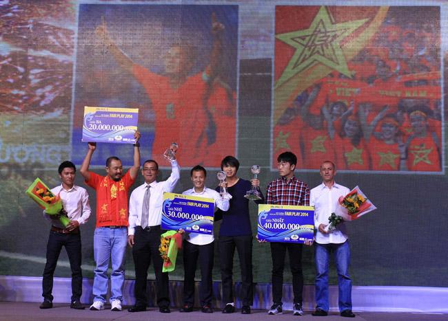 U19 Việt Nam tiếp tục thắng giải Fair play 2014