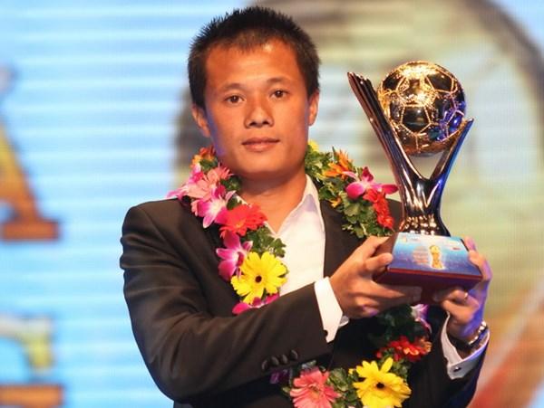 Thành Lương, Quả bóng vàng, V-League, Công Vinh, Công Phượng