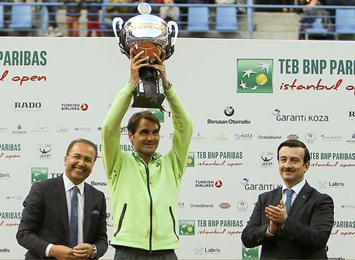 Federer, Istanbul