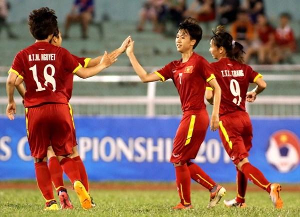 AFF cup, Tuyển nữ Việt Nam, Thái Lan, bán kết