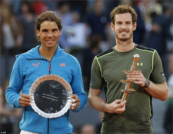 Murray, Madrid Open, Nadal