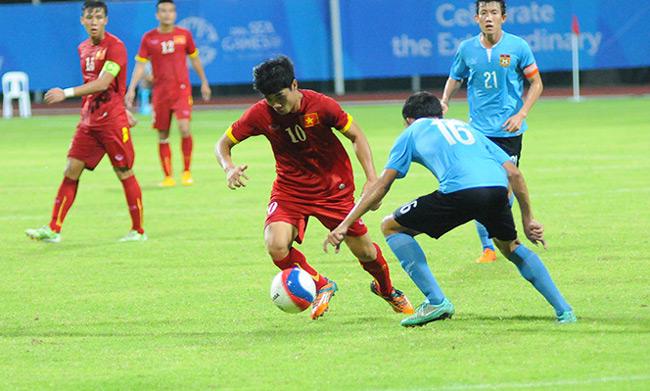 U23 Việt Nam, U23 Đông Timor, SEA Games, Miura