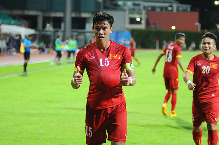 Ngọc Hải, Huy Toàn, Thành Lương, U23 Việt Nam, Miura