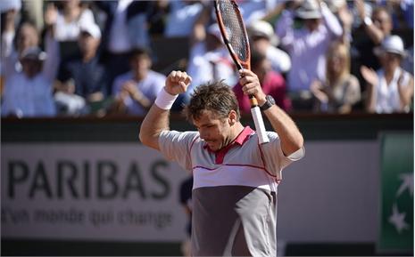 Lật đổ Djokovic, Wawrinka đăng quang Roland Garros