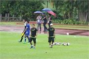 U23 Việt Nam đội mưa 'luyện công' chờ chiến Myanmar
