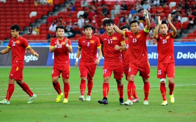 Chùm ảnh chiến thắng huỷ diệt ...an ủi của U23 Việt Nam - Ảnh 1
