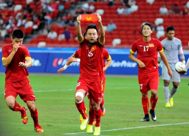 Chùm ảnh chiến thắng huỷ diệt ...an ủi của U23 Việt Nam - Ảnh 6