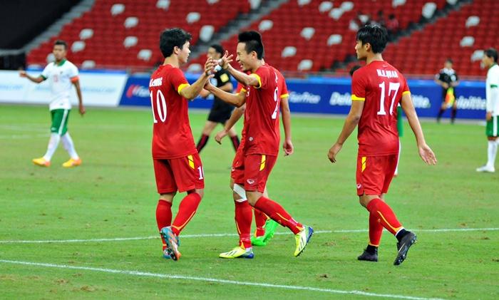 Chùm ảnh chiến thắng huỷ diệt ...an ủi của U23 Việt Nam - Ảnh 5