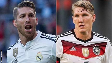 M.U 'hốt' liền một lúc bộ đôi Ramos - Schweinsteiger