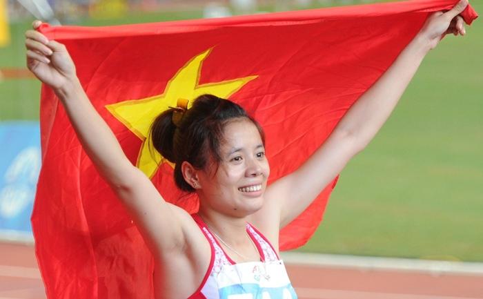 Nguyễn Thị Huyền, HCV, điền kinh, châu Á