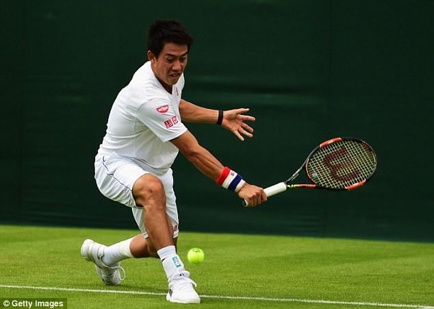 Wimbledon 2015, Sharapova, Nishikori