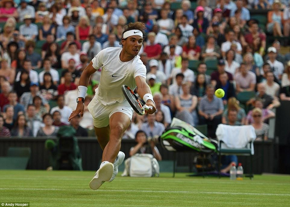 Nadal, thua sốc, vòng 2, Wimbledon