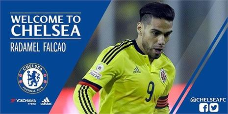 Nóng: Falcao chính thức gia nhập Chelsea