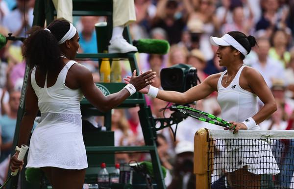 Wimbledon, Serena, Watson, Djokovic, Sharapova