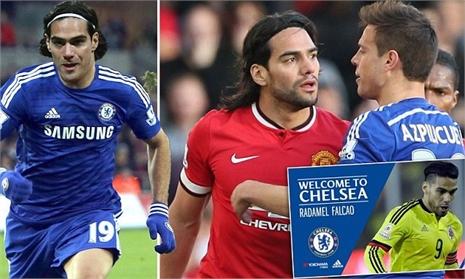 Về Chelsea, Falcao cắn răng giảm nửa lương