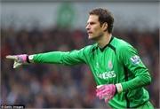 Chelsea sợ bị M.U 'cướp' mất Begovic