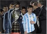 Nỗi cay đắng của Messi ở Copa America