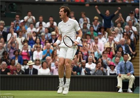 Hạ nhanh Pospisil, Murray chiến Federer ở bán kết
