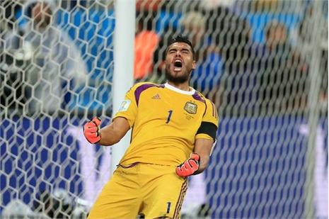 Van Gaal rước thủ môn số 1 Argentina về thay Valdes