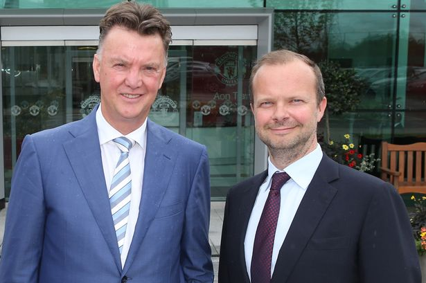 Van Gaal, Woodward, M.U