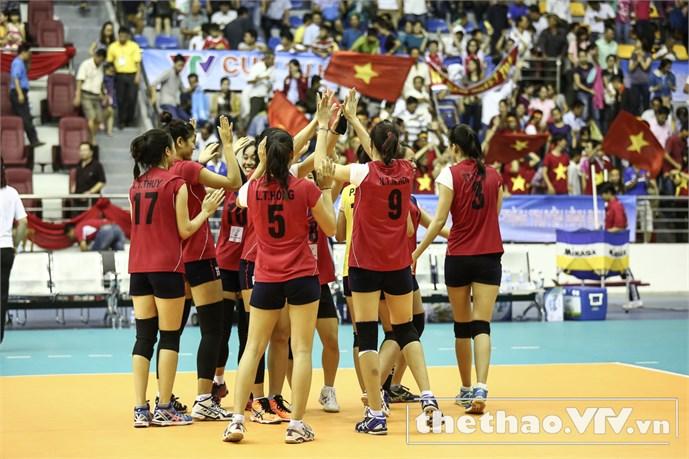 Hạ Triều Tiên, bóng chuyền nữ VN đấu Thái Lan ở bán kết