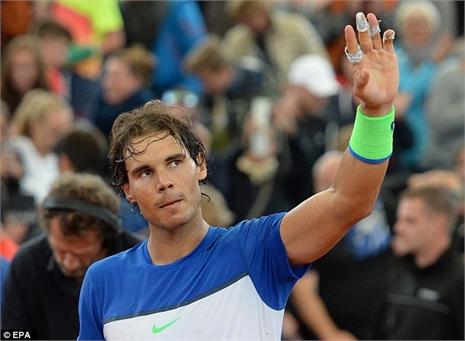 Nadal vào tứ kết Hamburg Open