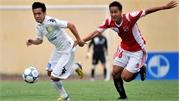 Tuyển thủ U23 lãnh thẻ đỏ, HN.T&T hòa may