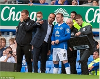 Bỏ M.U, Rooney bất ngờ khoác áo... Everton