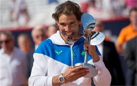 Choáng với số tiền Nadal nhận tại Hamburg Open