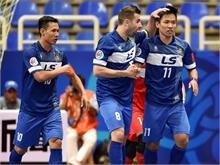Gây địa chấn, Thái Sơn Nam vào bán kết giải futsal châu Á