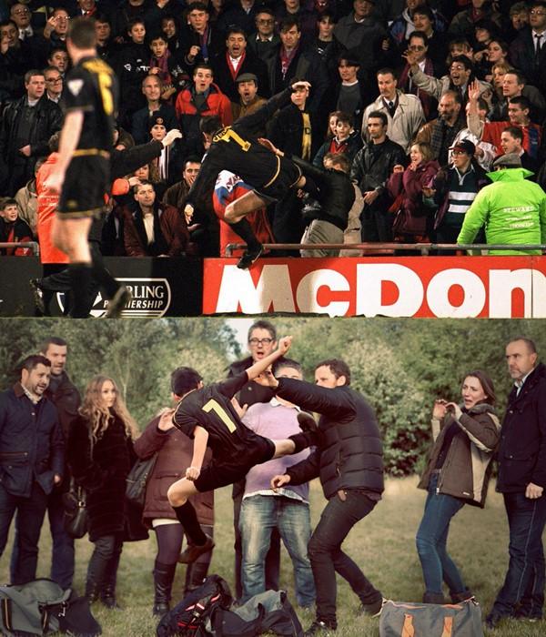 Zinedine Zidane, Balotelli, Cantona, Maradona