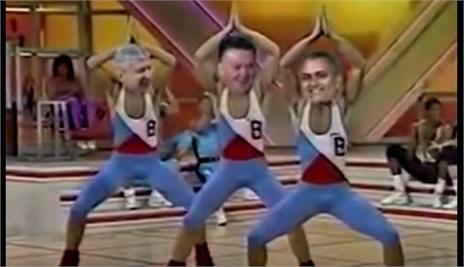 Mourinho, Wenger và Van Gaal nhảy aerobic cực đỉnh