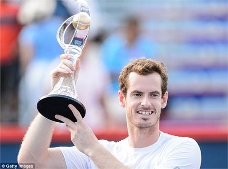Xem Murray hạ Djokovic, đăng quang Rogers Cup
