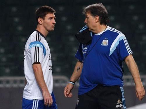 Martino, Messi, Argentina