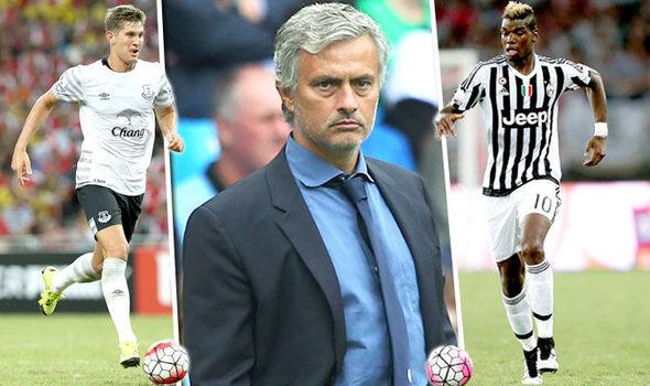 Chelsea, Mourinho, Stones, Pogba