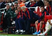Wenger rền rĩ: 'Trọng tài đã sai, Ramsey không việt vị!'