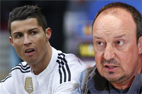 Vì Bale, Ronaldo lại bất mãn với Benitez
