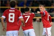 Rooney nâng tỷ số lên 2-0 cho M.U