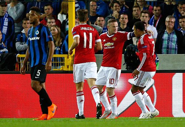 Rooney, hat-trick, Quỷ đỏ, Van Gaal