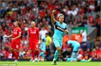 Highlights Premier League: Liverpool 0-3 West Ham