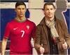 Ronaldo chơi trội, dựng tượng sáp... ngắm chơi