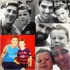 Con trai Rooney khoe ảnh tự sướng với Messi, Neymar