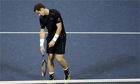 Murray thua sốc trước 'tòa tháp' Anderson