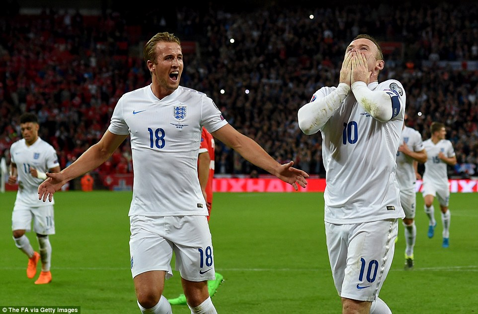 Harry Kane, Rooney, Anh