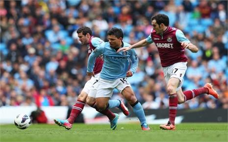 De Bruyne khai hỏa, Man City thua sốc trước West Ham