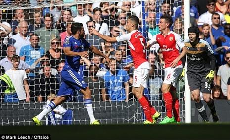 Graham Poll: 'FA nên phạt nặng Diego Costa'