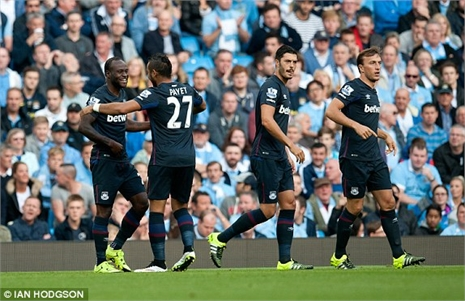 Highlights: Man City 1-2 West Ham