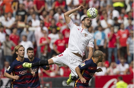 Highlights: Sevilla 2-1 Barcelona